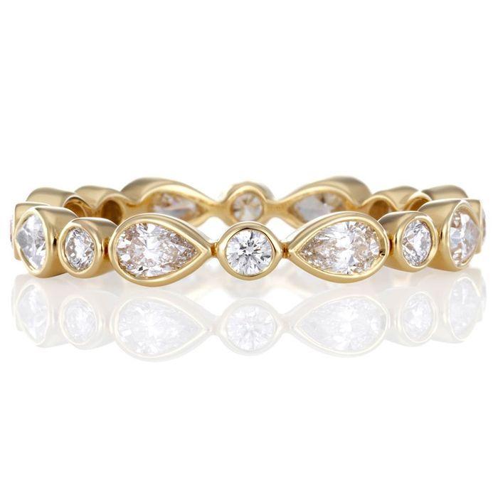 Alliance originale diamant De Beers - Mariage : Une alliance originale ...