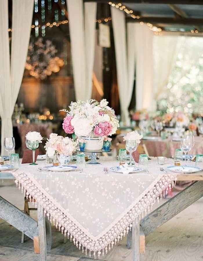 D coration de table de mariage toutes les d cos de table de mariage qui nou - Site de decoration mariage ...