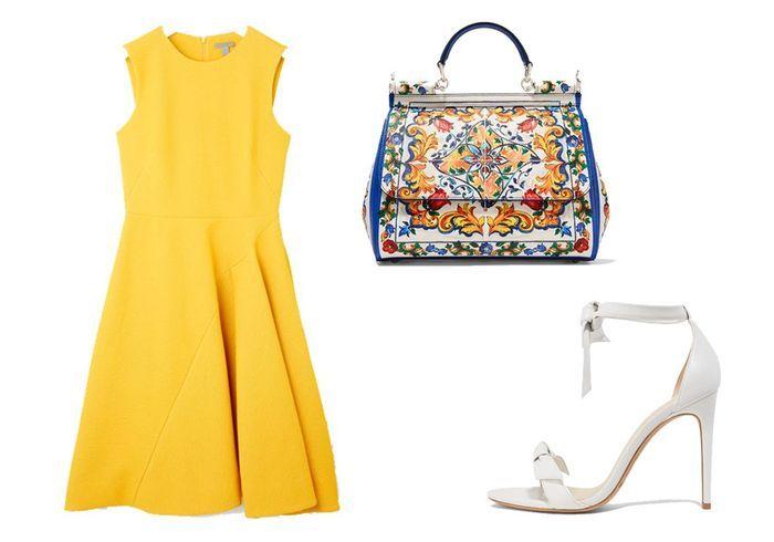 robe mariage jaune cos 10 robes de mariage pour tre presque aussi styl e que la mari e elle. Black Bedroom Furniture Sets. Home Design Ideas