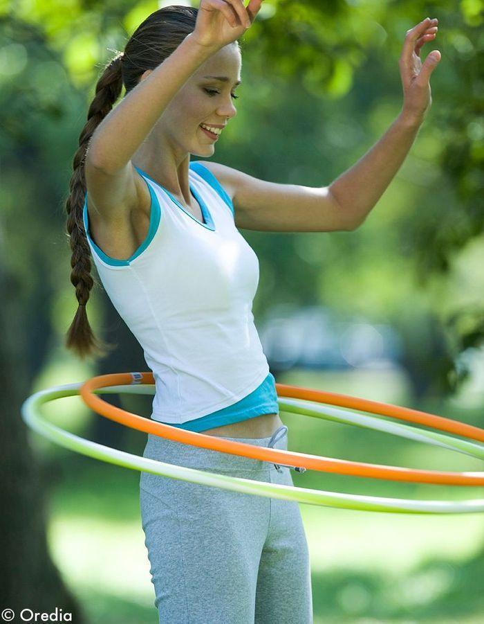 Mettez-vous au hula hoop