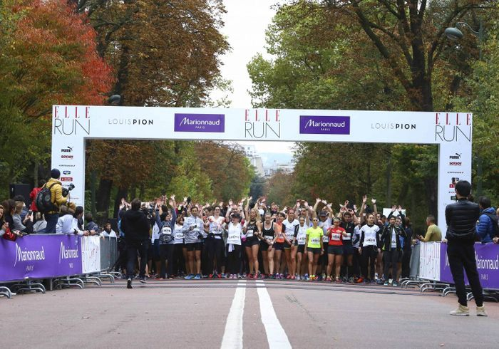 ELLE RUN MARIONNAUD : revivez la première course en duo du magazine