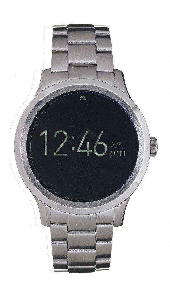 montre connect e fossil q 10 montres connect es qui remettent les pendules l 39 heure elle. Black Bedroom Furniture Sets. Home Design Ideas