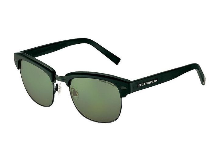 Mode tendance guide shopping lunettes visage carre mi monture trussardi