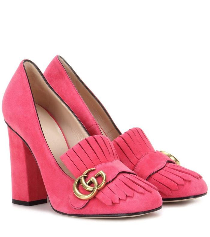 Escarpin rose Gucci