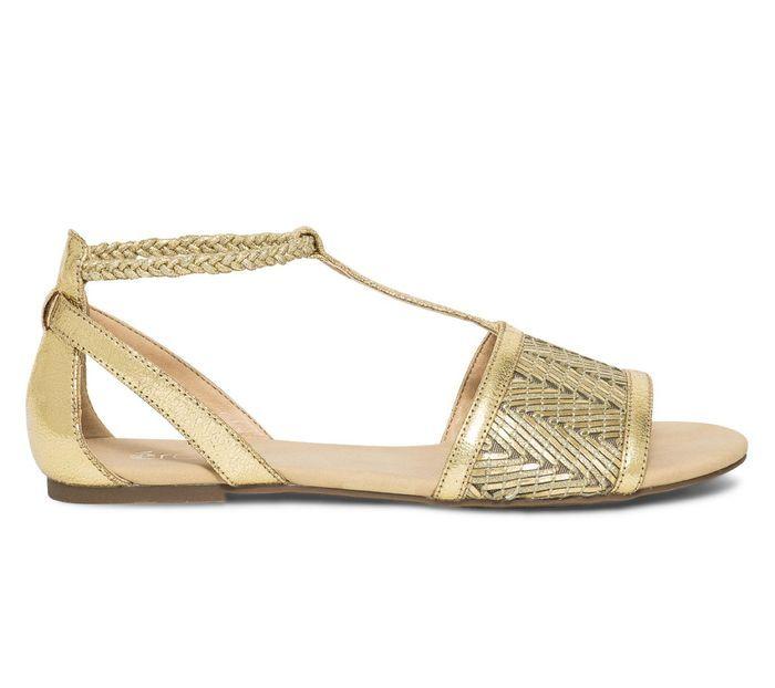 Sandales plates Eram