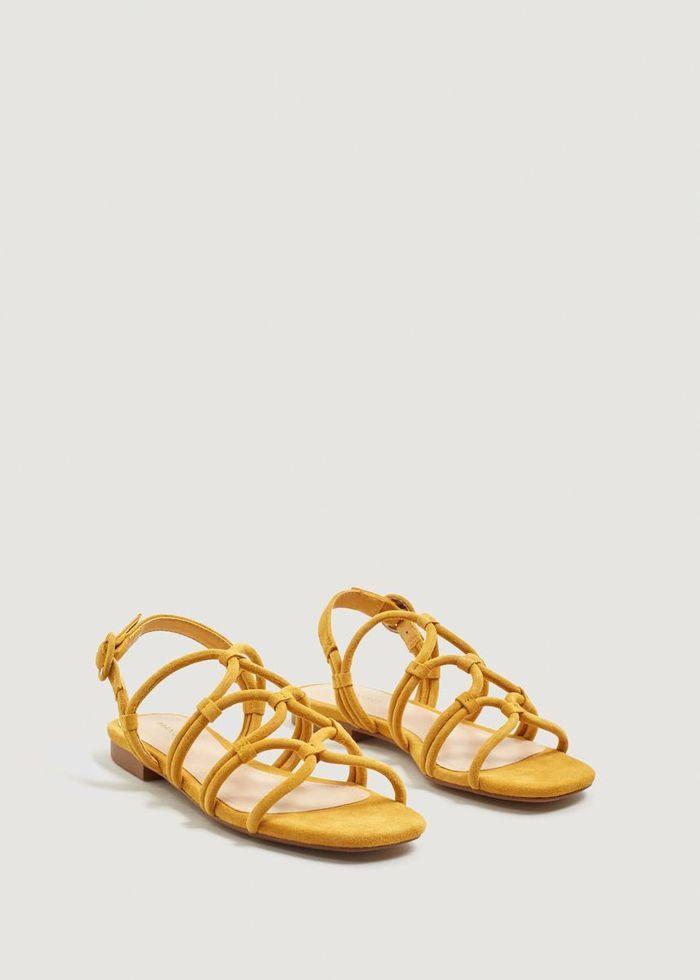 Sandales plates Mango