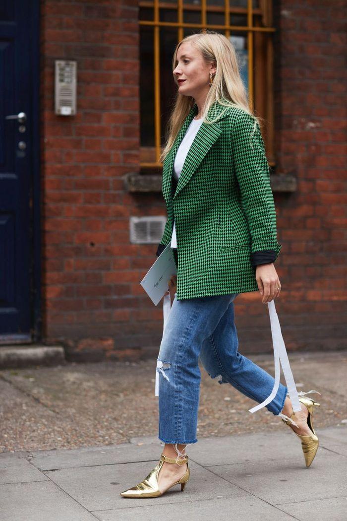 Le blazer coloré