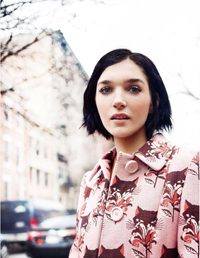 manteau imprim comment s 39 habiller comme une new yorkaise elle. Black Bedroom Furniture Sets. Home Design Ideas