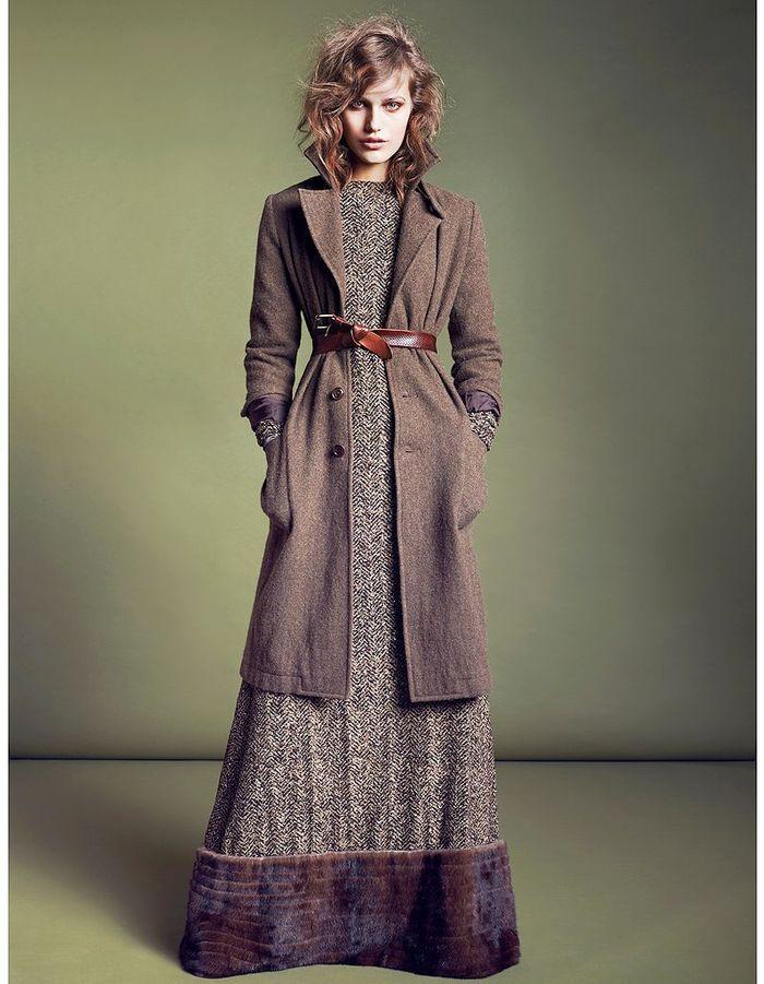 Robe longue defi mode