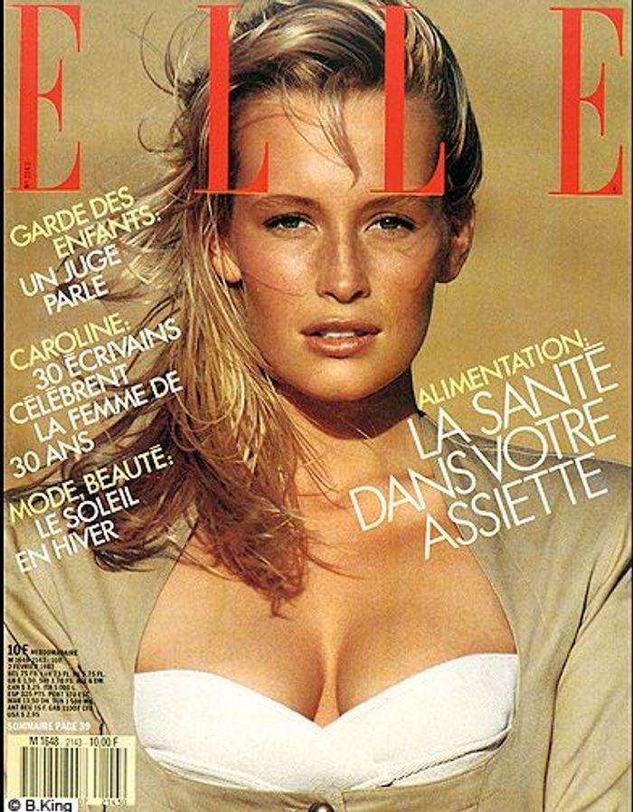 couverture elle magazine 1987 les plus belles couvertures de elle elle. Black Bedroom Furniture Sets. Home Design Ideas