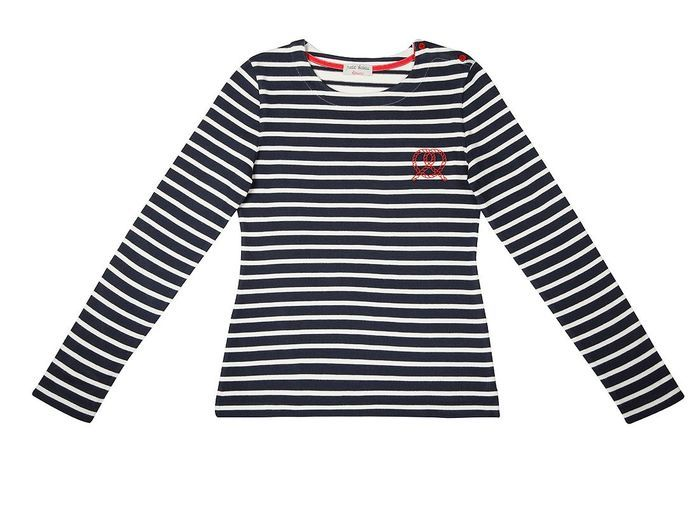 petit bateau x kitsune mariniere femme petit bateau par kitsun des t shirts et marini res. Black Bedroom Furniture Sets. Home Design Ideas