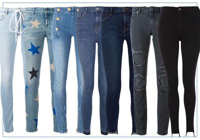 20 jeans slim pour un look rock et féminin
