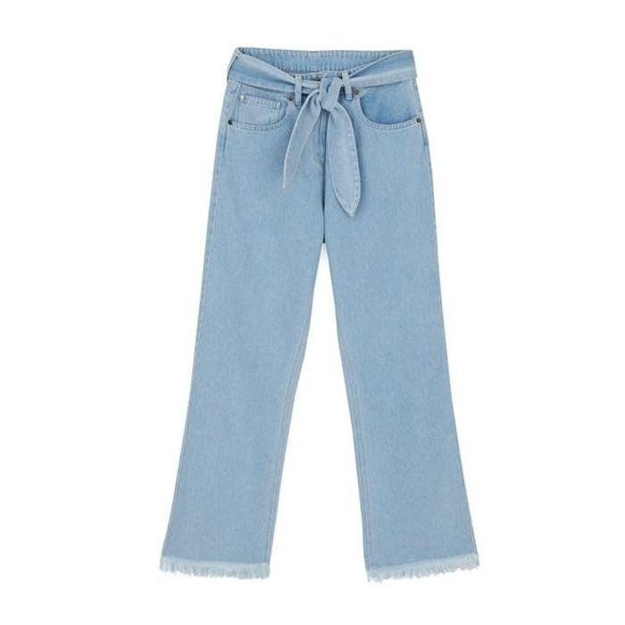 Jean taille haute flare Nanushka