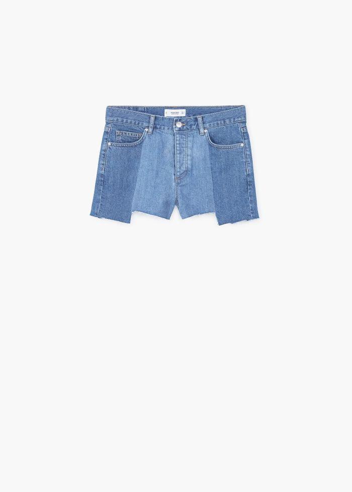 Short en jean Mango