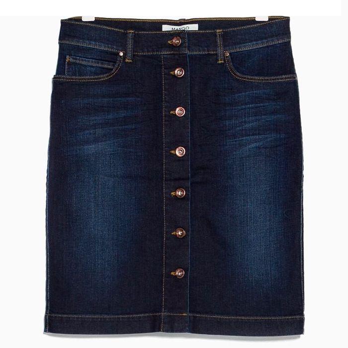 jupe boutons en jean mango une jupe boutons pour tre sexy et jolie elle. Black Bedroom Furniture Sets. Home Design Ideas