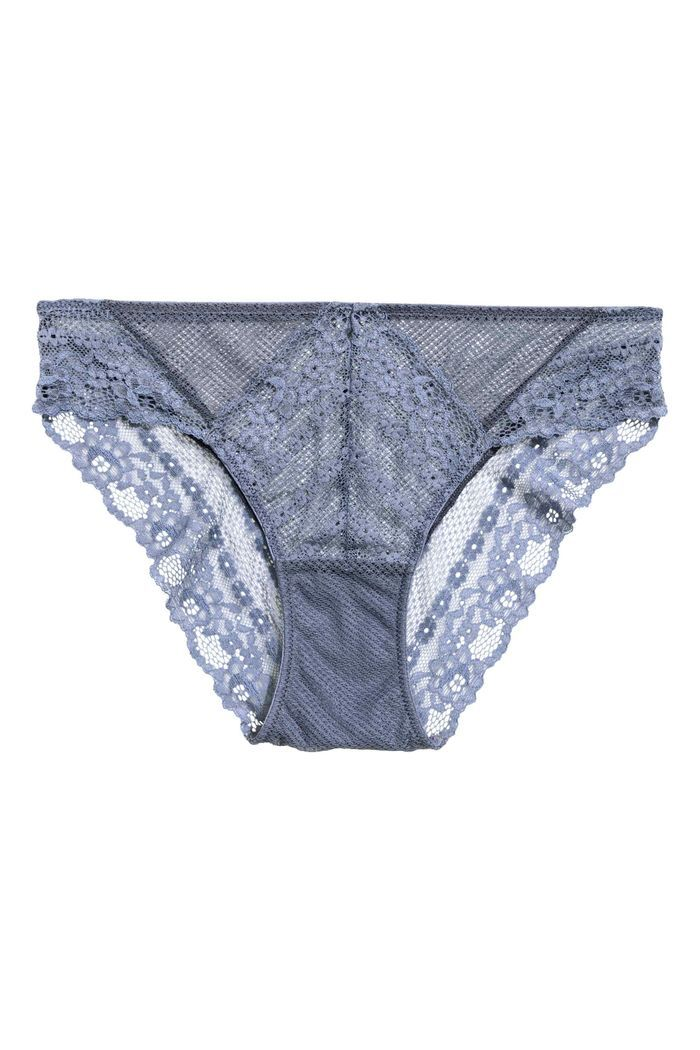 Culotte bleue de l'adolescence