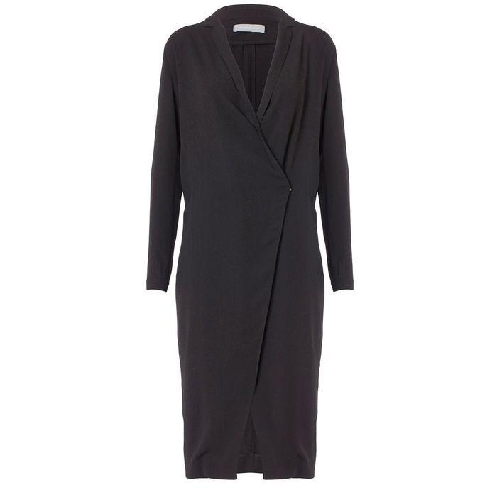 une veste longue porter en robe 7 fain antises fashion