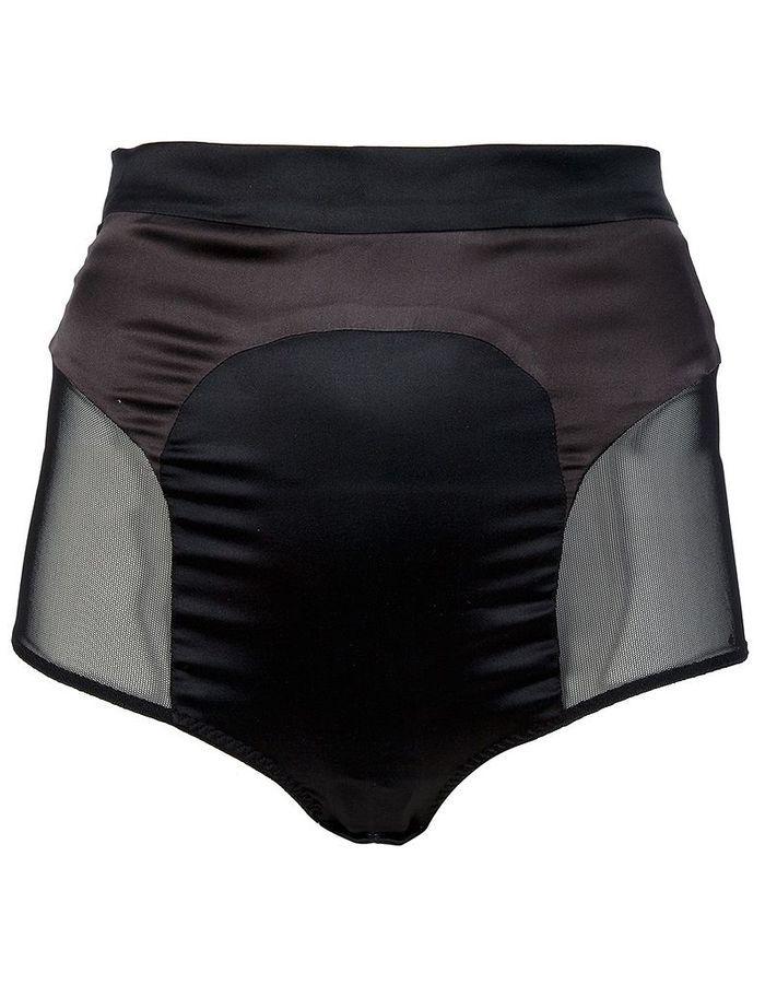 culotte en soie noire avec coupe taille haute marika vera quel dessous pour quel dessus elle. Black Bedroom Furniture Sets. Home Design Ideas
