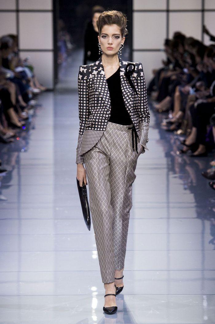 Tabliers Haute Couture : Défilé giorgio armani haute couture automne hiver