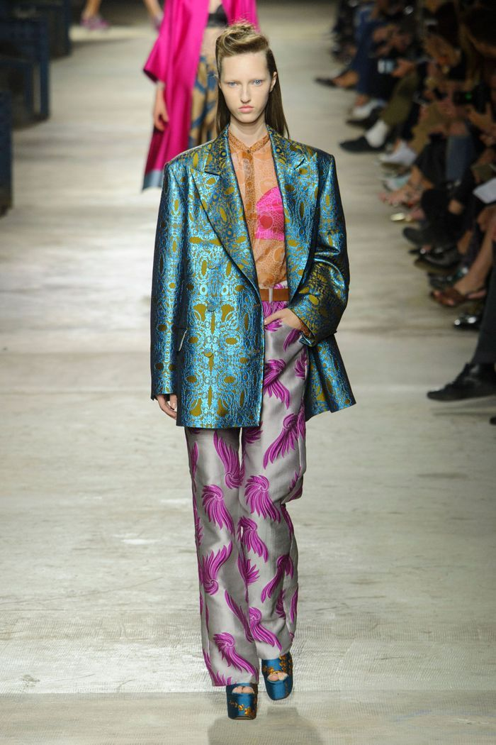Défilé Dries Van Noten