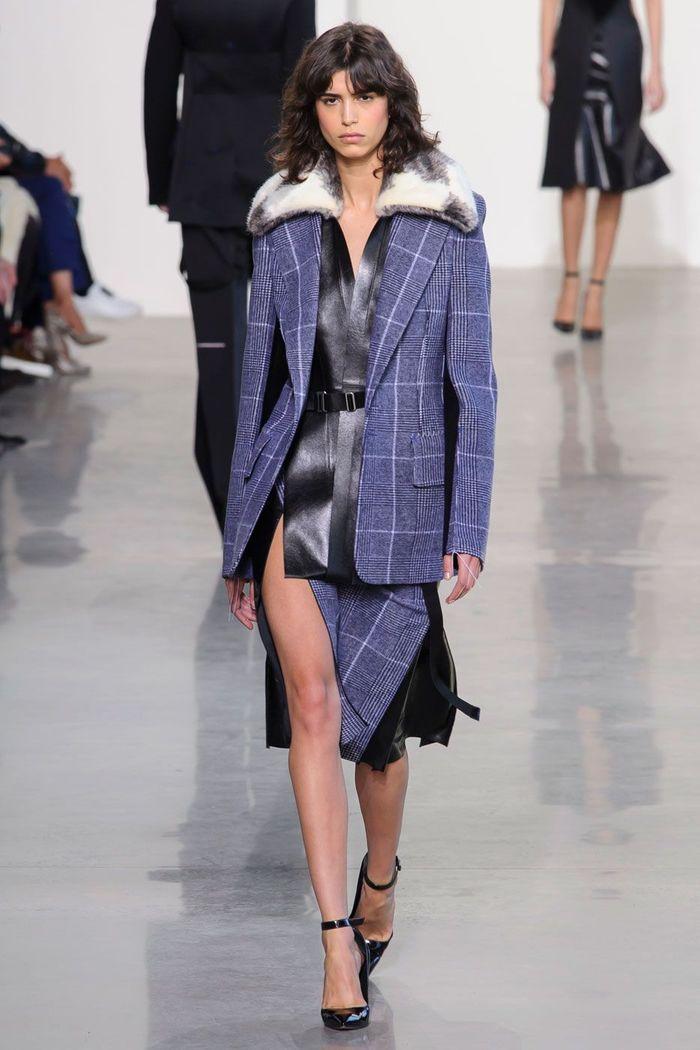 Fashion Week New York Automne Hiver 2016 17 Fashion Week De New York 20 Looks Retenir Elle
