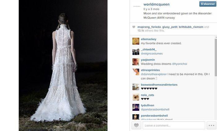 Alexander mcqueen les 101 comptes instagram suivre pendant la fashion week elle - Qui suivre sur instagram ...