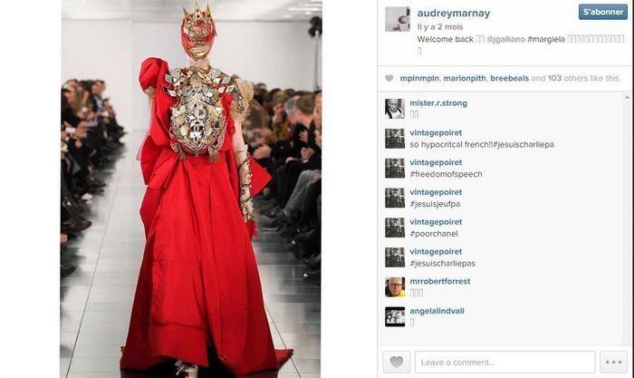 Audrey marnay les 101 comptes instagram suivre pendant la fashion week elle - Qui suivre sur instagram ...