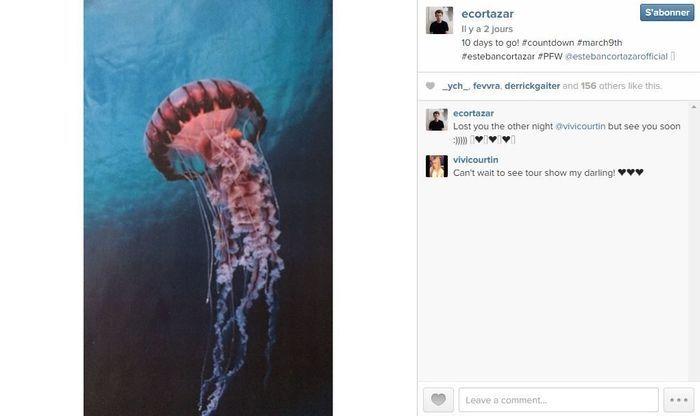 Esteban cortazar les 101 comptes instagram suivre pendant la fashion week elle - Qui suivre sur instagram ...