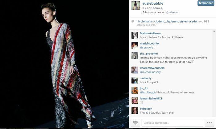 Susie bubble les 101 comptes instagram suivre pendant la fashion week elle - Qui suivre sur instagram ...