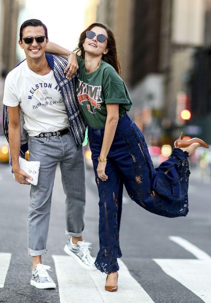 Comment porter des lunettes de soleil mouchet es street style 12 fa ons styl es de porter - Comment porter le keffieh ...