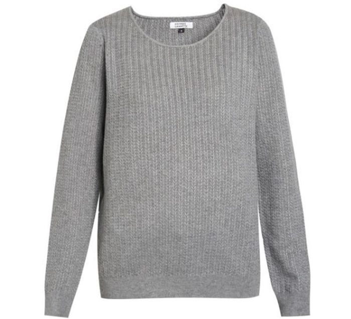 Pull Galeries Lafayette gris