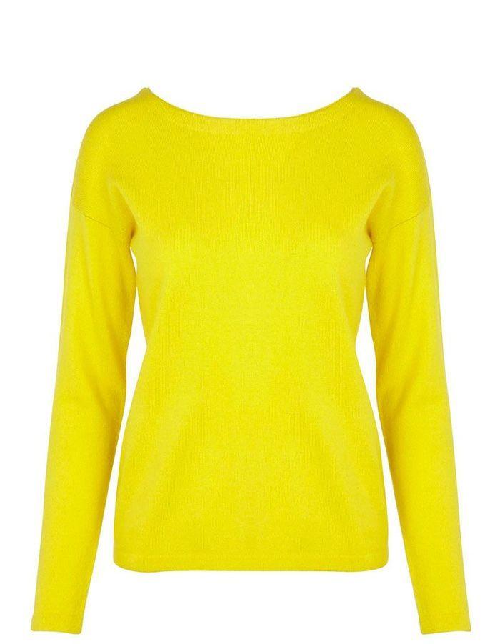 pull cachemire femme jaune comptoir des cotonniers 20. Black Bedroom Furniture Sets. Home Design Ideas
