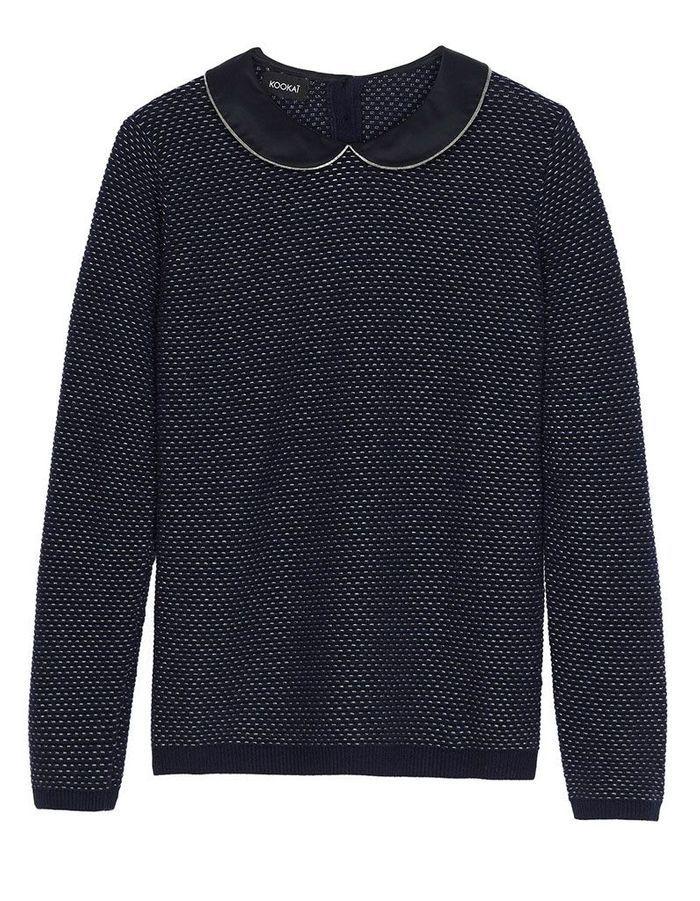 pull en laine noir kookai 30 pulls en laine pour tre au. Black Bedroom Furniture Sets. Home Design Ideas