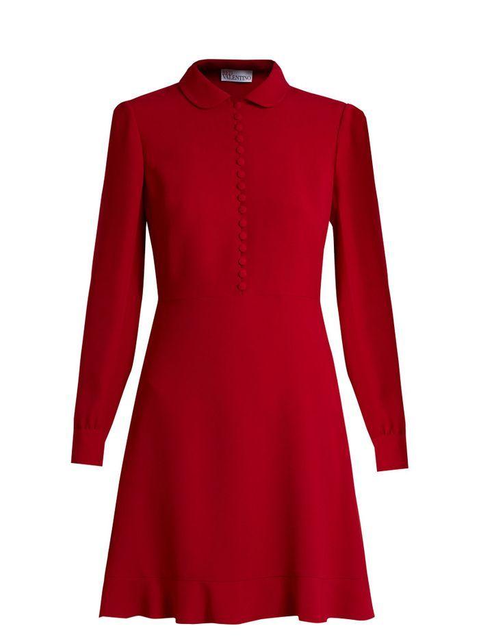 Robe boutonnée Red Valentino