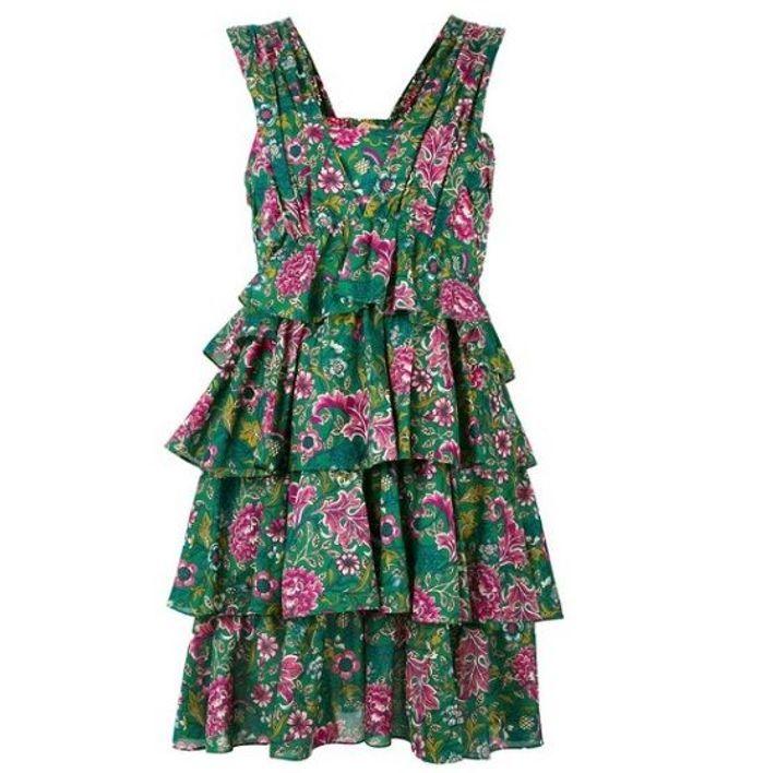 Robe fleurie N°21