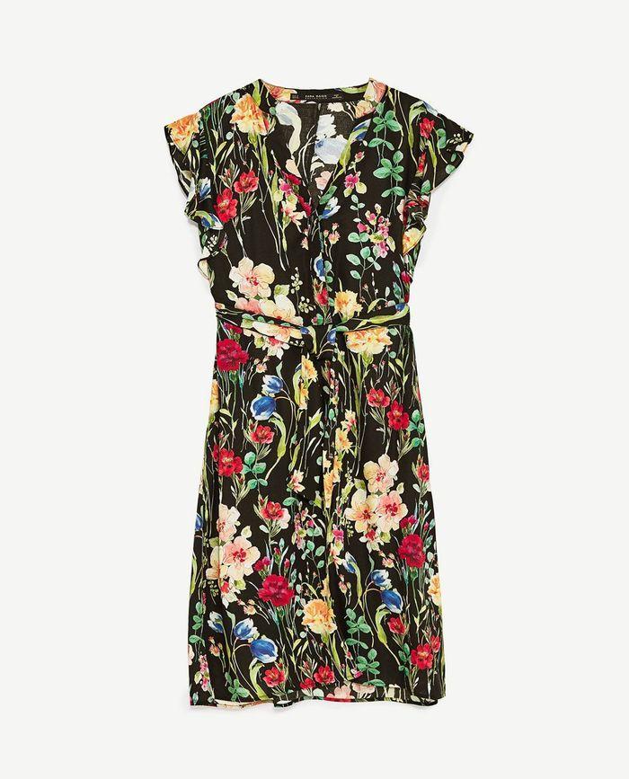 Robe fleurie Zara 49,95 €