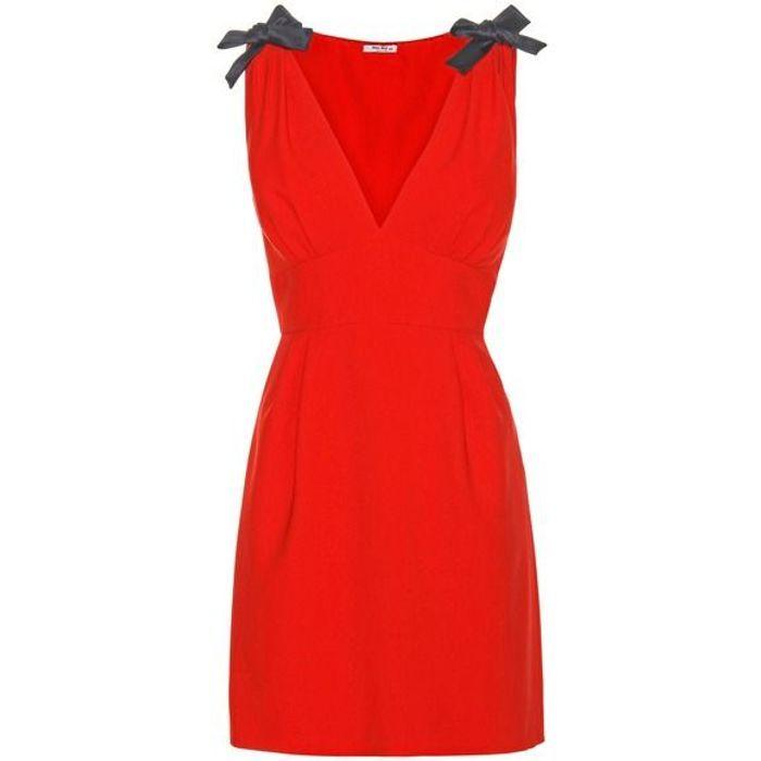 Robe rouge Miu-Miu