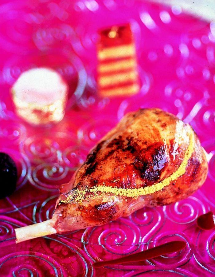 d lice de lapin dor au millefeuille de chorizo et foie gras comment cuisiner le lapin pour. Black Bedroom Furniture Sets. Home Design Ideas
