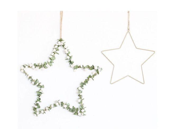 Boule de Noël végétale