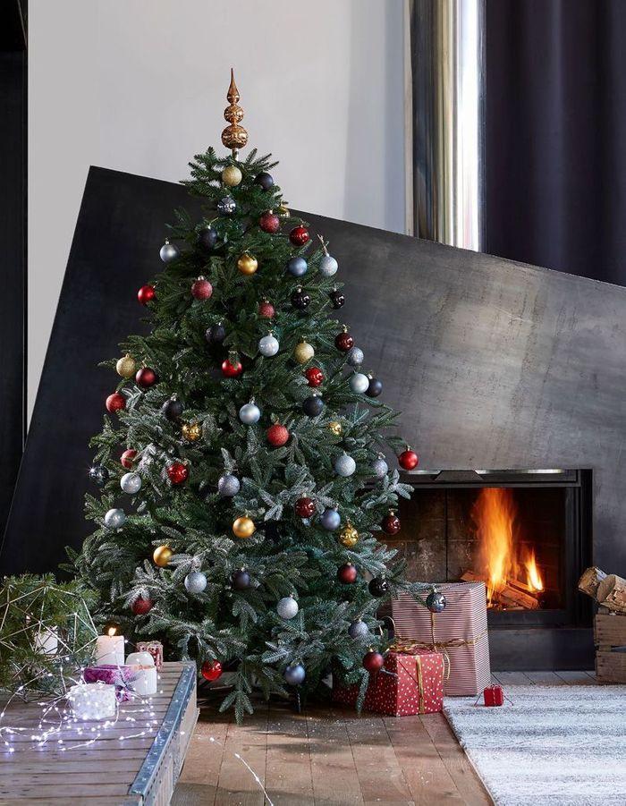 Arbre de Noël traditionnel