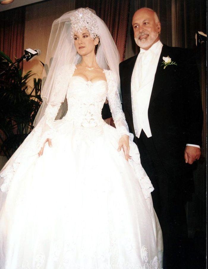 Le mariage c line dion et ren ang lil ins parables jusqu au bout elle - Photo de mariage ...
