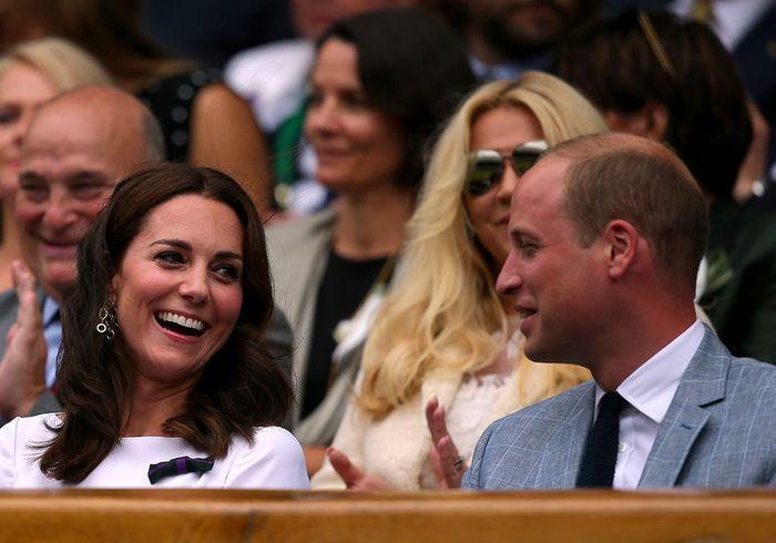 Kate Middleton et Hugh Grant : supporters de charme à Wimbledon !