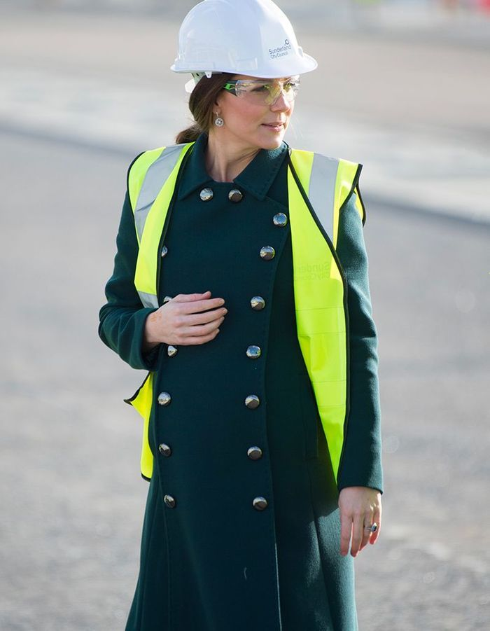 Kate Middleton en manteau Dolce & Gabbana