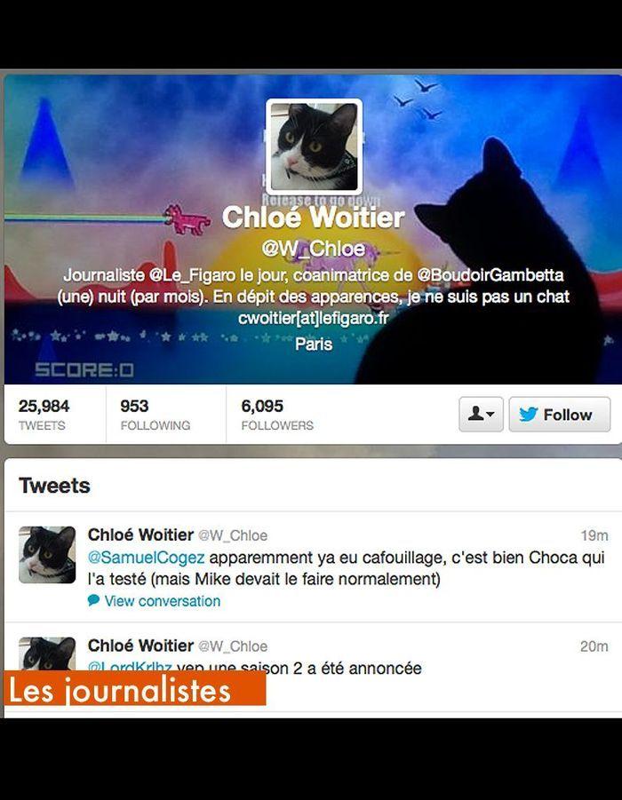 Les journalistes w chloe qui suivre sur twitter elle - Qui suivre sur instagram ...