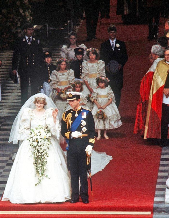 Le mariage du prince Charles et Diana Spencer en 1982