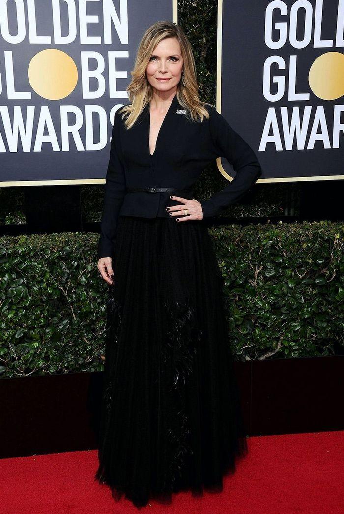 Michelle Pfeiffer en Dior Haute Couture