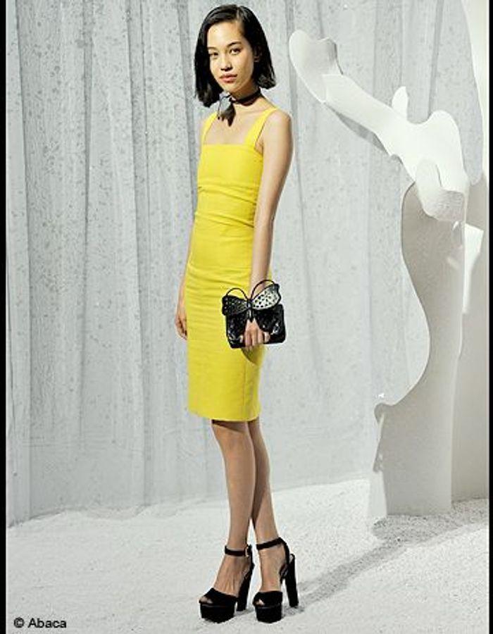 People tapis rouge defiles fashion week paris chanel Kiko Mizuhara ...