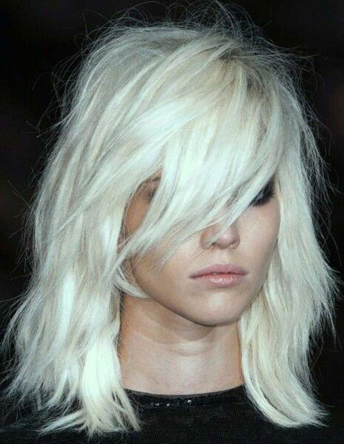 Coiffure Cheveux Fins Visage Long - 30 Coiffures Pour Les Cheveux Fins - Elle