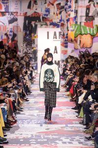 Défilé Christian Dior Prêt à porter Automne-hiver 2018/2019