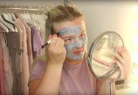 #PrêtàLiker : cette youtubeuse applique 100 couches de bubble mask, regardez ce qu'il se passe